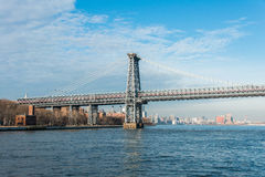 The williamsburg bridge in new york Royalty Free Stock Photography