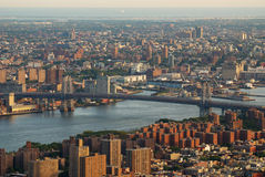 Williamsburg Bridge New York City Stock Images