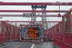 Williamsburg Bridge Stock Image