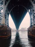 Williamsburg bridge Royalty Free Stock Image
