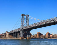Williamsburg Bridge Stock Photo