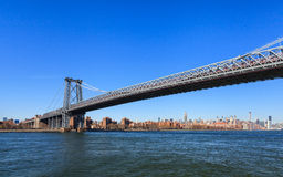 Williamsburg Bridge Royalty Free Stock Photos