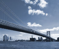 Williamsburg Bridge. Royalty Free Stock Photo