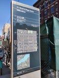 Williamsburg, Brooklyn, NYC, NY, Etats-Unis, carte photographie stock