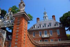 Williamsburg colonial fotografia de stock