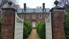 Williamsburg colonial Imagem de Stock Royalty Free