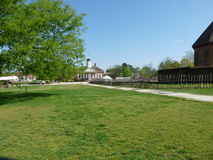 Williamsburg fort. Historic williamsburg fort and palace Royalty Free Stock Image