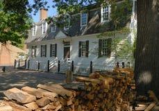 Williamsburg historiskt hem Royaltyfri Bild