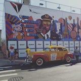 Williamsburg i New York royaltyfri fotografi