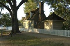 Williamsburg koloniinvånareutgångspunkt Royaltyfria Foton
