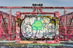 Williamsburg most - Brooklyn, Nowy Jork Obraz Stock