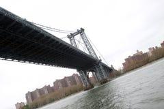 Williamsburg most nad Wschodnią rzeką, NYC zdjęcie stock