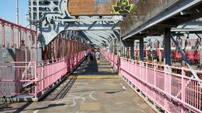 Williamsburg mosta pedestrians przejście zbiory wideo