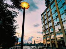 Williamsburg sunset Royalty Free Stock Images
