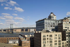 Williamsburg View Royalty Free Stock Images