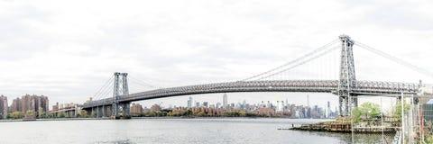 Williamsburgbrug in de Stad van New York Stock Foto