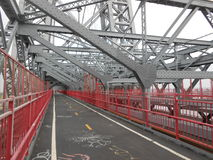 Williamsburgbrug, New York Royalty-vrije Stock Afbeeldingen