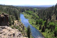 Williamson River Canyon Imagenes de archivo