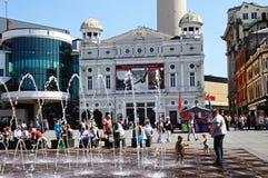 Williamson Square, Liverpool. Stock Images