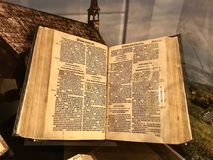 The Great Bible Printed by Mules Coverdale Stock Images