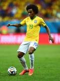 Willian Coupe du monde 2014 Stock Photos