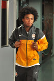 Willian after the game Stock Images