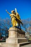 Willian Tecumseh Serman Statue en Central Park Fotografía de archivo