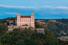 Willibaldsburg boven Eichstätt royalty-vrije stock fotografie