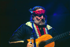 Willie die blauwe ogencryi zingt Stock Fotografie