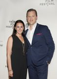 Willie Geist and Christina Geist  Stock Image