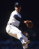Willie Hernandez. Detroit Tigers relief pitcher Willie Hernandez. (Image taken from color slide Royalty Free Stock Photography