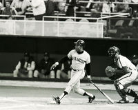 Willie Mays, San Francisco Giants Lizenzfreie Stockfotos