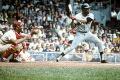 Willie Mays, San Francisco Giants Stockfotos