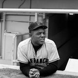 Willie Mays, San Francisco Giants Photos stock