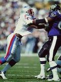 Willie McGinnest New England Patriots Royalty Free Stock Photo