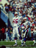 Willie McGinnest New England Patriots Royalty Free Stock Images