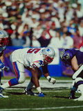 Willie McGinnest New England Patriots Stock Photo