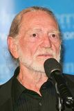 Willie Nelson. At the Kerry Victory 2004 Concert at Walt Disney Concert Hall, Los Angeles, CA. 06-24-04 Royalty Free Stock Image