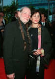 Willie Nelson. 23FEB2000: Singer WILLIE NELSON & wife ANNIE at the 42nd Annual Grammy Awards in Los Angeles.  Paul Smith / Featureflash Royalty Free Stock Photography