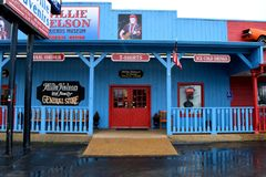 Willie Nelson and Friends Museum and General Store. The exterior of Willie Nelson and Friends Museum and General Store in Nashville, Tennessee, USA Royalty Free Stock Photos