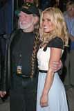 Willie Nelson, Jessica Simpson. Willie Nelson and Jessica Simpson  at the Pre- Screening of The Dukes of Hazzard At MCAS Miramar, MCAS Miramar, San Diego, CA 07 Stock Photos