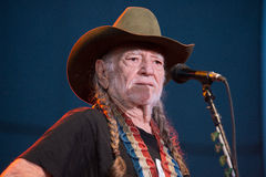 Willie Nelson. LINCOLN, CA – June 17: Willie Nelson performs at Thunder Valley Casino Resort in in Lincoln, California on June 17, 2015 Royalty Free Stock Photography