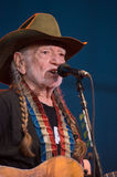 Willie Nelson. LINCOLN, CA – June 17: Willie Nelson performs at Thunder Valley Casino Resort in in Lincoln, California on June 17, 2015 Royalty Free Stock Images