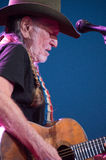 Willie Nelson. LINCOLN, CA – June 17: Willie Nelson performs at Thunder Valley Casino Resort in in Lincoln, California on June 17, 2015 Royalty Free Stock Photos