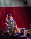 Willie Nelson. Plays the Les Schwab Amphitheater in Bend, Oregon for thousands of fans Stock Images