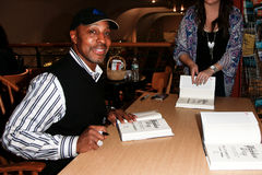 Willie Randolph. HUNTINGTON, NY-MAY 16: Former MLB player/manager Willie Randolph signs copies of his book The Yankee Way at Book Revue on May 16, 2014 in Stock Images