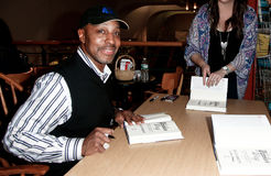 Willie Randolph. HUNTINGTON, NY-MAY 16: Former MLB player/manager Willie Randolph signs copies of his book The Yankee Way at Book Revue on May 16, 2014 in Stock Photography