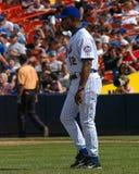 Willie Randolph, Manager, NY Mets Royalty-vrije Stock Afbeeldingen
