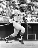 Willie Stargell. Pittsburgh Pirates 1B Willie Stargell #8. (Image taken from B&W negative Stock Image