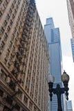 Willis Kontrollturm Chicago Lizenzfreies Stockfoto